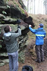 C3W film crew capturing Derek's activities