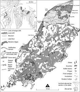 Geomorphology of the Isle of Man (Thomas et al., 2006)