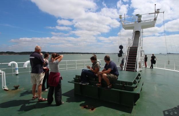 The leaving of Southampton