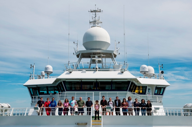 Science crew of the RRS James Cook cruise JC123